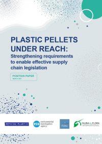 Plastic Pellets UNDER REACH - cover
